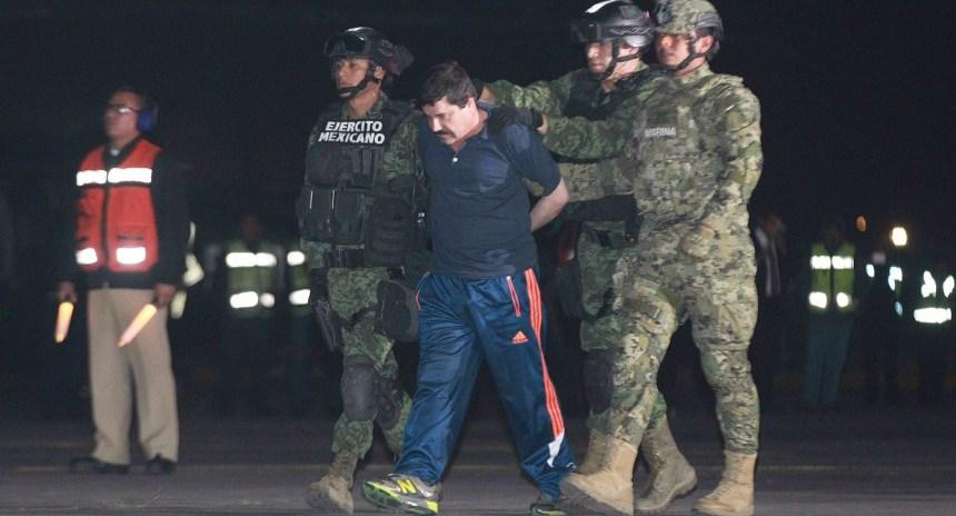 """Video de la detención del Chapo Guzmán: Operativo """"Cisne Negro"""""""