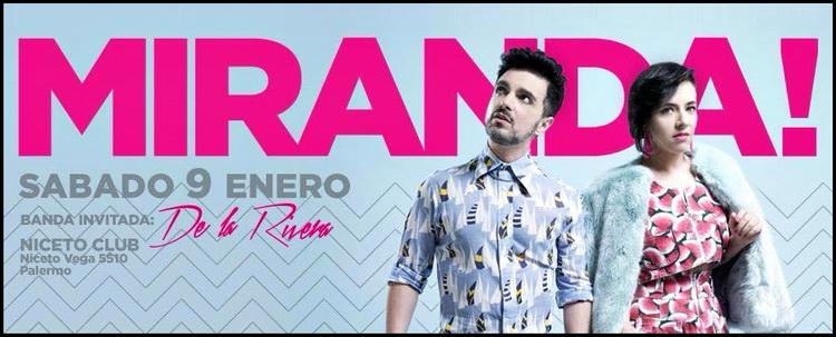 """""""Miranda!"""" abre el verano musical en Niceto Club"""