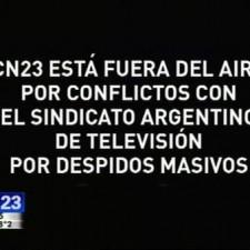 Cristóbal López echó 136 trabajadores de CN23