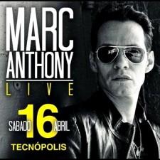 """""""Marc Anthony"""" en vivo en Argentina"""