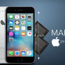 Apple redujo el tamaño de sus dispositivos