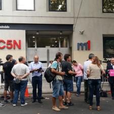 Allanamiento en C5N y empresas de Cristóbal López