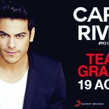 Carlos Rivera visita Argentina y anuncia gira en Agosto