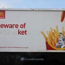 El vandalismo creativo revoluciona la publicidad tradicional de las marcas