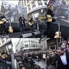 AXEL 'un piquetero' de los Premios Gardel a la Música 2016