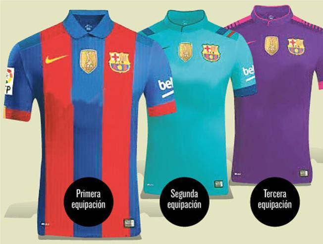 Filtran fotos de la nueva camiseta del Barcelona
