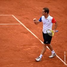 Sólido triunfo de Gasquet ante Nishikori en Roland Garros