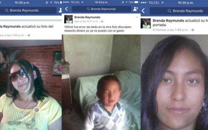 La arrestaron por vender a su hijo en Facebook