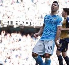 A pesar del gol de Agüero Manchester City igualó con Arsenal y aún no está en zona de Champions