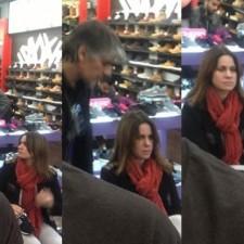 Pablo Echarri y Nancy Duplaá compraron en la Quinta Avenida y fueron insultados en Twitter