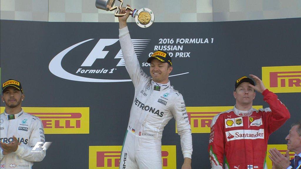 Rosberg sigue con puntaje ideal tras vencer en Rusia 1