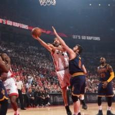 Toronto no le dio chances a los Cavaliers y descontó en la serie