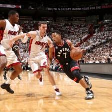 Toronto le ganó con lo justo a los Heat y pasó al frente