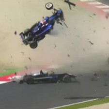 Video: Brutal accidente en la Formula 3 en Austria