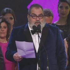 Jorge Lanata de Oro: polémica en los Martín Fierro