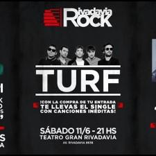 Llega en junio el ciclo Rivadavia Rock