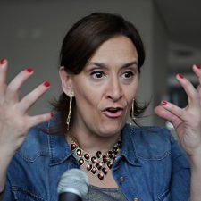 Gabriela Michetti y una metáfora media extraña