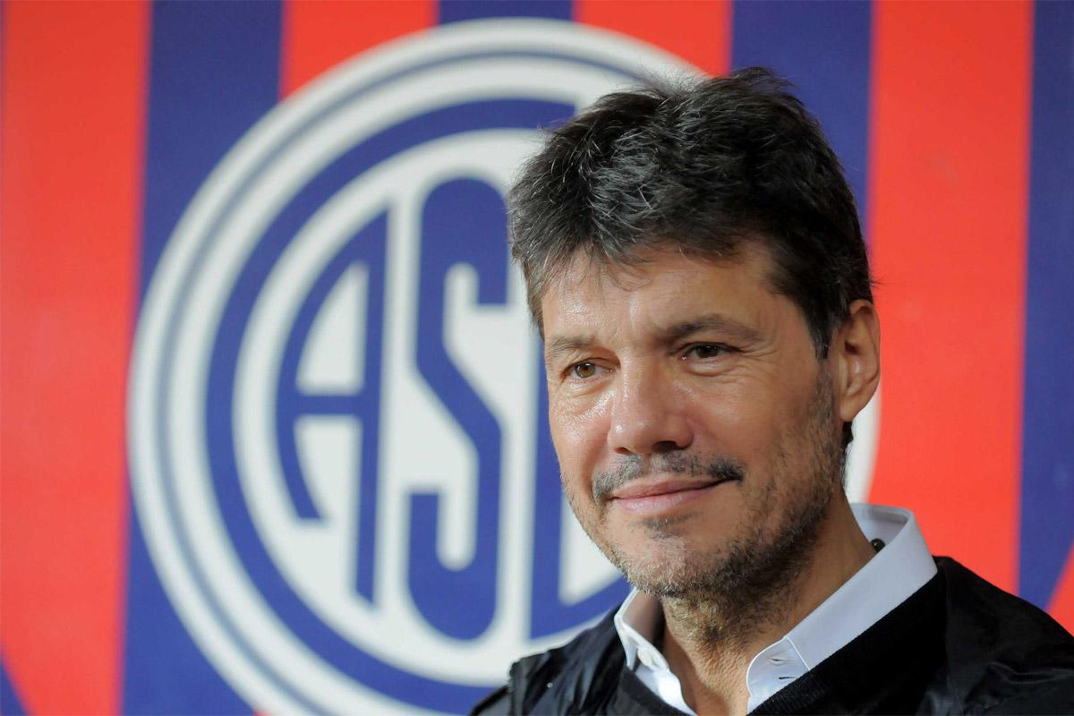 Tinelli bajó su candidatura y renunció a la vicepresidencia de la AFA