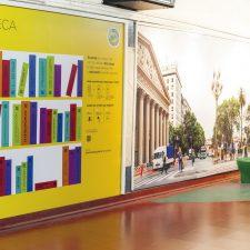 El Subte solidario: reciben donaciones de libros