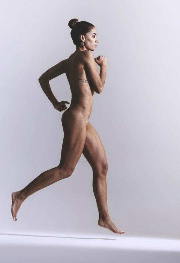 Ali krieger espn body issue behind the scenes - 2 5