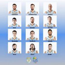 Argentina confirmó el equipo olímpico de básquet