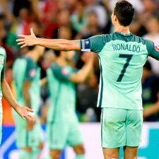 Con Cristiano a la cabeza, Portugal pasó a la final de la Euro