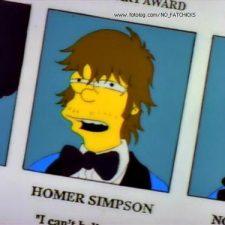 "Homero Simpson: ""Maradona es un gordo tetón"""