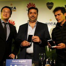 Huawei presente en la camiseta Boca Juniors
