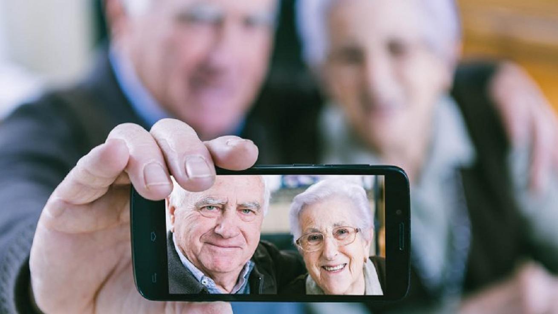 Mobile en la tercera edad