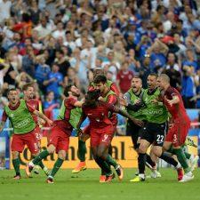 Portugal le ganó en suplementario a Francia y se consagró campeón