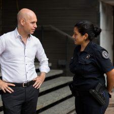 La Policía vuelve a los Hospitales porteños