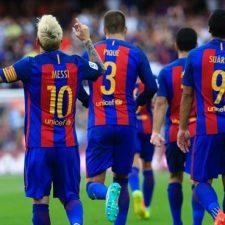 Messi la rompió en el inicio de la liga
