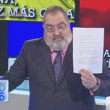 Lanata mostró la carta de CFK a Báez y la ex presidenta estalló en Twitter