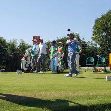 Gran jornada para el golf olímpico argentino