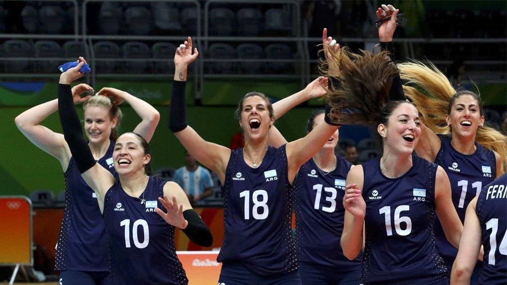 Las Panteras ganaron su primer partido en los Juegos Olímpicos