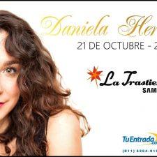 Daniela Herrero graba con Fabiana Cantilo y toca en La Trastienda