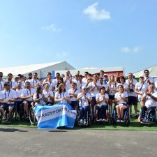 La delegación argentina en los Juegos Paralímpicos