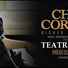 """Chris Cornell en diciembre en el """"Teatro Colon"""""""