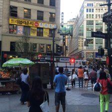 Tiroteo en pleno centro de Manhattan