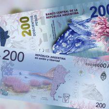 El nuevo billete de $ 200 ya está en circulación