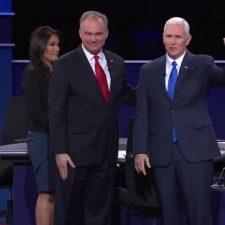 Acalorado debate entre los candidatos a vicepresidente de Estados Unidos