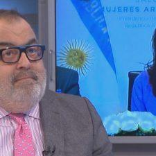Lanata no se presentó en la audiencia de mediación con Cristina Fernández