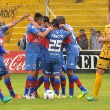 Tigre logró el primer triunfo goleando a Olimpo
