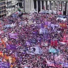 Represión policial en el Encuentro Nacional de Mujeres