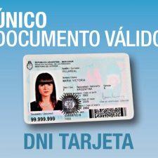 Noviembre: el nuevo DNI para viajar al exterior