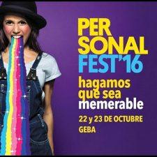 """"""" Personal Fest 2016"""": Grilla de horarios y nuevos artistas"""