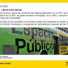 Ecobus: nuevo colectivo híbrido en Buenos Aires