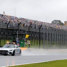 Hamilton ganó un GP de Brasil muy complicado por la lluvia