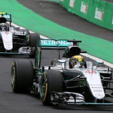Hamilton ganó una clasificación muy cerrada en Brasil