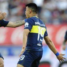 Boca fue más que San Lorenzo y se metió en la lucha